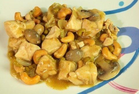 Pollo con anacardi 1