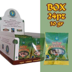 Box 24 pz Noci dell'Amazzonia Bio equosolidale