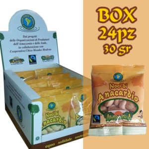 Box 24 pz Noci di anacardio