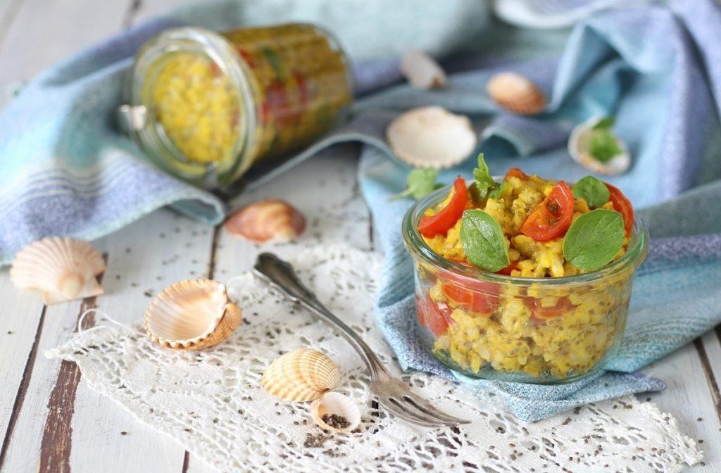 ricetta riso integrale semi di chia
